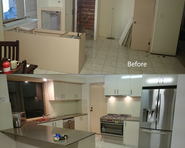 Mellowship kitchen before after2